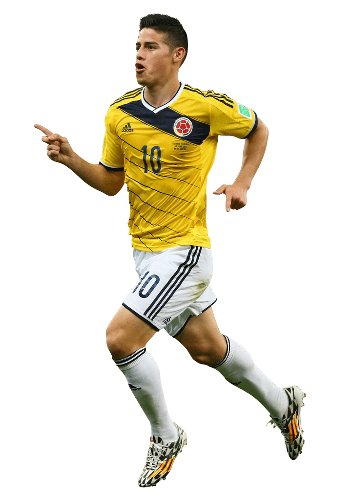 James Rodríguez - PNG #1