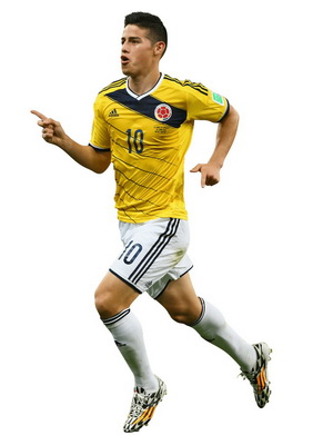James Rodríguez - PNG